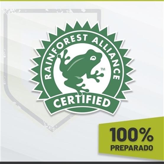 100% PREPARADO - RAINFOREST